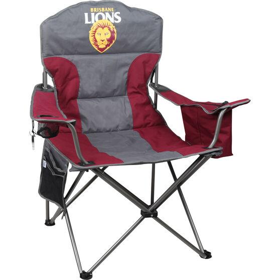 AFL Brisbane Lions Cooler Arm Chair, , bcf_hi-res