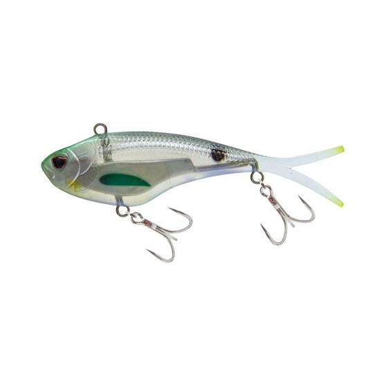 Nomad Vertrex Max Soft Vibe Lure 95mm Holo Ghost Shad, Holo Ghost Shad, bcf_hi-res