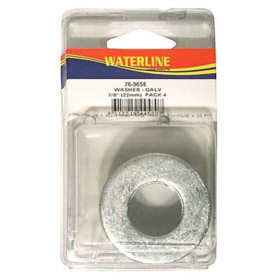 Waterline Galvanised Flat Washers, , bcf_hi-res