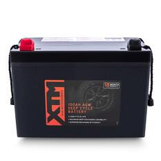 XTM Deep Cycle AGM Battery DC12-100AGM, , bcf_hi-res