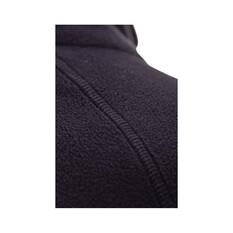 Macpac Men's Tui Polartec Micro Fleece Jacket, Black, bcf_hi-res