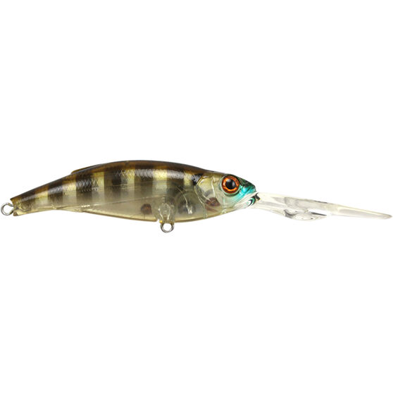 Atomic Hardz Shiner Double Deep Hard Body Lure 75mm Ghost Gill Brown 75mm, Ghost Gill Brown, bcf_hi-res