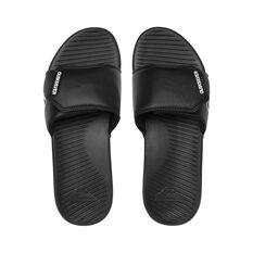 Quiksilver Waterman Bright Coast Adjustable Thongs Black / White 8, Black / White, bcf_hi-res