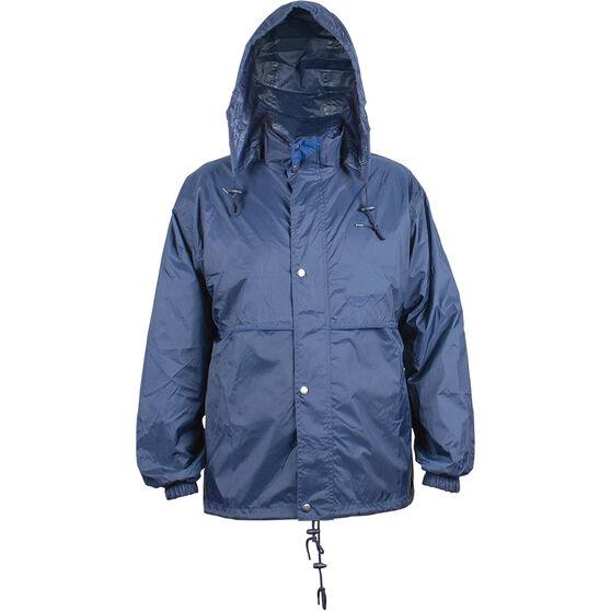 Team Unisex Stolite Original Rainwear Jacket, Navy / Royal Blue, bcf_hi-res