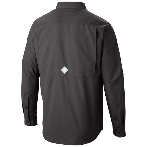 Columbia Men's Cascades Explorer Fishing Shirt, Grill, bcf_hi-res