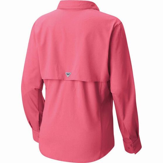 Columbia Women's Tamiami II Long Sleeve Shirt, Lollipop, bcf_hi-res