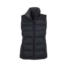Macpac Women's Halo Down Vest Black 8, Black, bcf_hi-res