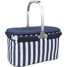 Wanderer Folding Cooler Picnic Basket, , bcf_hi-res