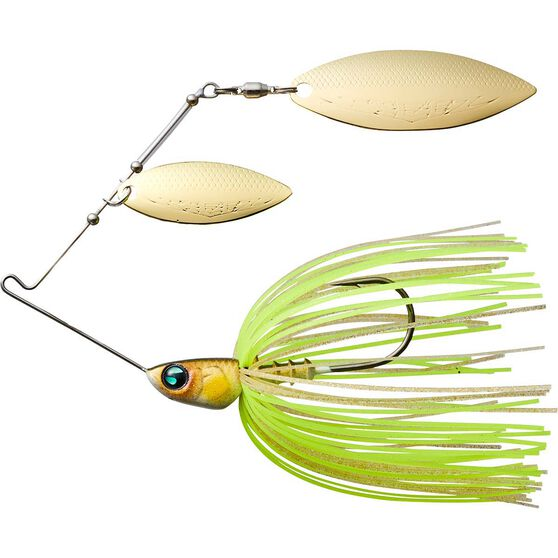 Daiwa Steez Spinnerbait Lure Chart Gold 3/8oz, Chart Gold, bcf_hi-res