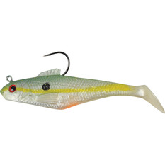 Berkley PowerBait Shad Soft Plastic Lure 6in, Chart Shad, bcf_hi-res
