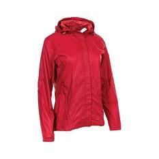 OUTRAK Women's Packaway Rain Jacket Deep Claret 8, Deep Claret, bcf_hi-res