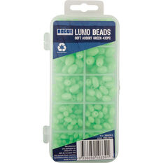 Soft Assorted Lumo Beads 430 Pack Green, Green, bcf_hi-res