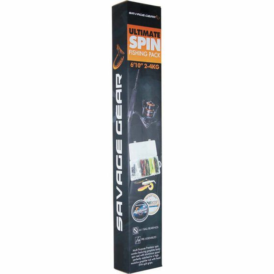 Savage MPP Ultimate Spinning Combo 6ft 10in 2 - 4kg, , bcf_hi-res