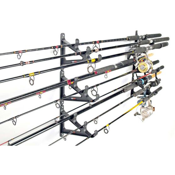 Sea Dog Horizontal Rod-Rak 9 Rods, , bcf_hi-res