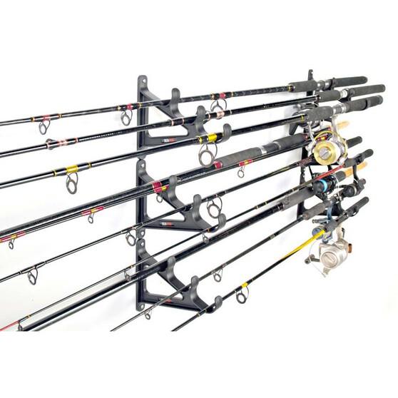 Sea Dog Horizontal Rod-Rak 9 Rods, , bcf_hi-res