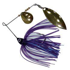 Tackle Tactics Striker Spinner Bait Lure 1 / 4oz Pink / Blue, Pink / Blue, bcf_hi-res