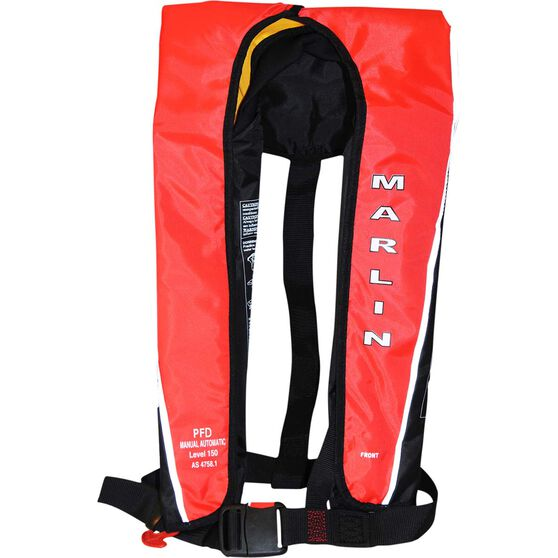 Marlin Australia Adult Manual/Auto Inflatable PFD 150, , bcf_hi-res