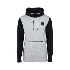 The Mad Hueys Men's Offshore Pullover Hoodie Grey Marle S, Grey Marle, bcf_hi-res