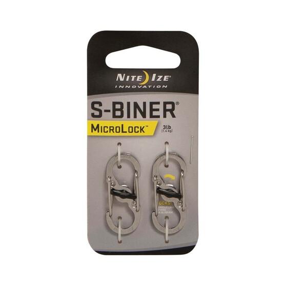 Nite Ize S Biner MicroLock 2 Pack Stainless, , bcf_hi-res