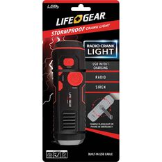 Life Gear USB Crank Light, , bcf_hi-res