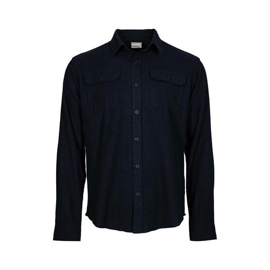 Outrak Men's Flannel Shirt, Black, bcf_hi-res
