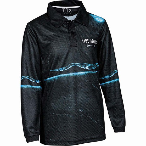 Tide Apparel Youth's Bandit Fishing Jersey, Multi, bcf_hi-res