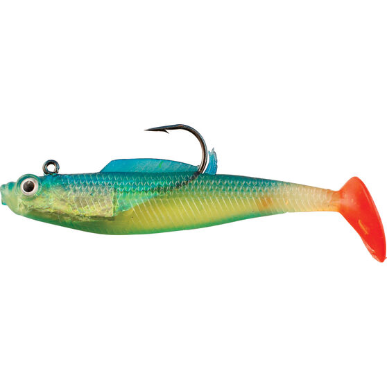 Rogue Rigged Paddle Tail Soft Plastic Lure 10cm, , bcf_hi-res