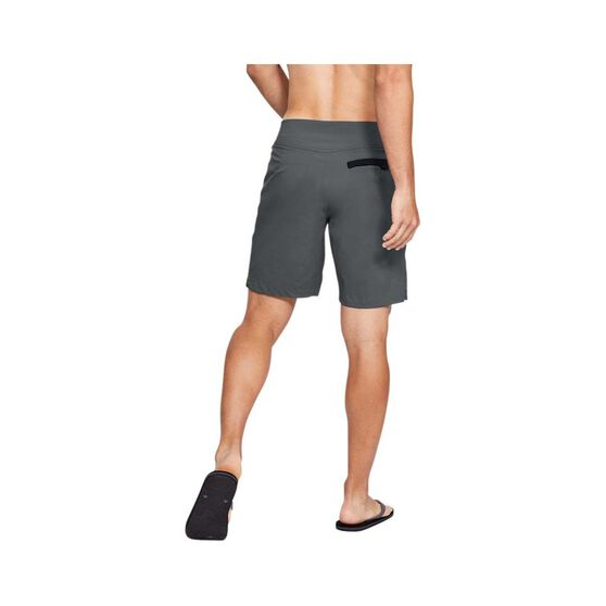 Under Armour Men's Fish Hunter Boardshorts, Pitch Grey / Black, bcf_hi-res