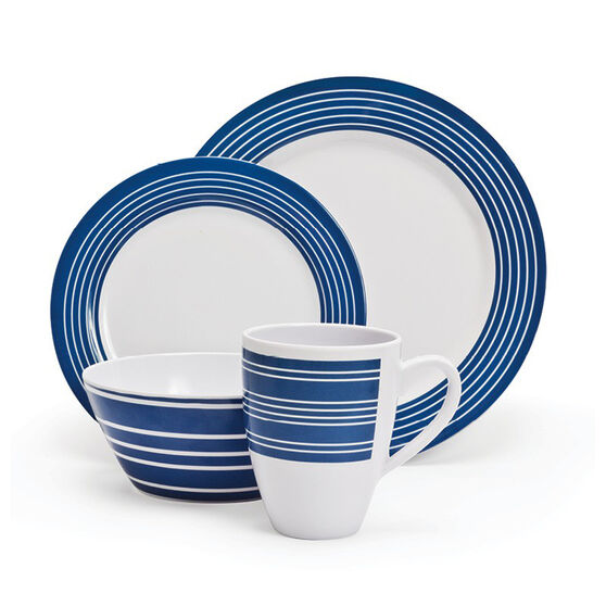 Primus Melamine Nautical Set 16 Piece, , bcf_hi-res