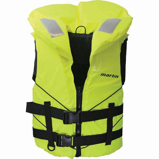 Marlin Australia Adult Challenger MK2 Level 100 PFD, Yellow, bcf_hi-res