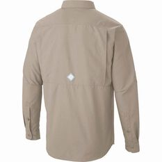 Columbia Men's Cascades Long Sleeve Shirt Fossil S, Fossil, bcf_hi-res