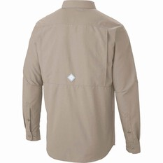 Columbia Men's Cascades Long Sleeve Shirt, Fossil, bcf_hi-res