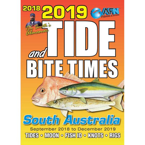 AFN South Australia Tide and Bite Guide 2019, , bcf_hi-res
