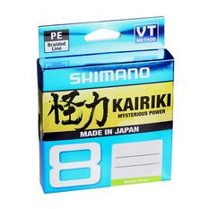 Shimano Kairiki 8 Braid Line 300m Mantis Green 20lb 20lb, , bcf_hi-res