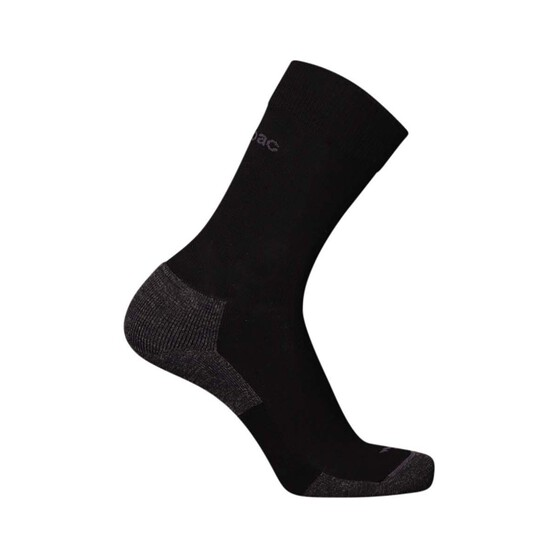 Macpac Footprint Socks, Black, bcf_hi-res