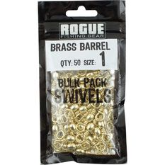 Brass Barrel Swivel 50 Pack, , bcf_hi-res