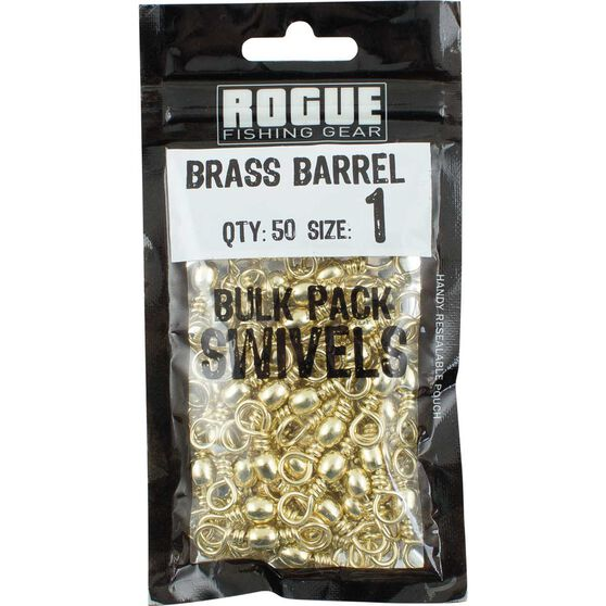 Rogue Brass Barrel Swivel 50 Pack, , bcf_hi-res