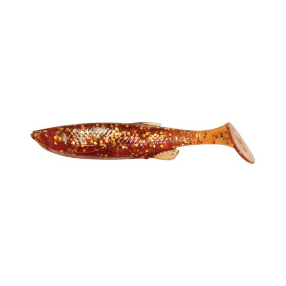 Savage Fat T Tail Soft Plastic Lure 6cm Root Beer, Root Beer, bcf_hi-res