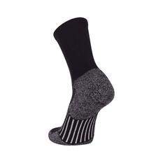 Macpac Unisex Tech Merino Hiker Socks Black S, Black, bcf_hi-res