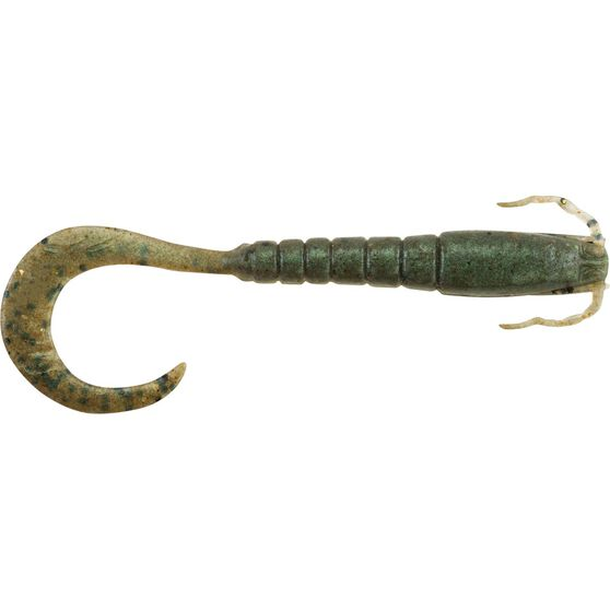 Berkley Jig Shrimp Soft Plastic Lure 3in Pepper Prawn, Pepper Prawn, bcf_hi-res