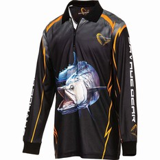 Savage Kids' Spanish Mack Sublimated Polo Black 8, Black, bcf_hi-res