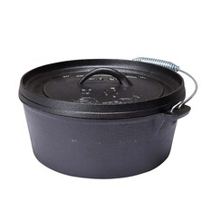 Pioneer Pre Seasoned Camp Oven 4.5 Quart 4.5 Quart, , bcf_hi-res