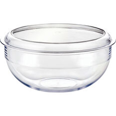 Palm Tritan Duo Salad Bowl/Cheese Platter 25cm, , bcf_hi-res