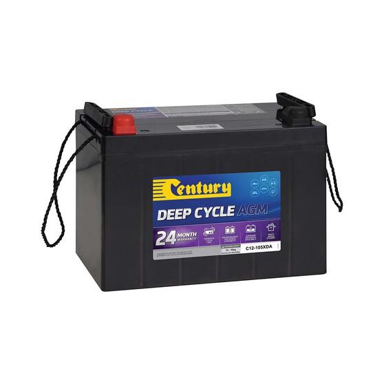 Century Deep Cycle AGM Battery C12-105XDA, , bcf_hi-res