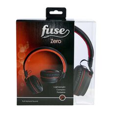 Zero Over Ear Headphones Black / Red, Black / Red, bcf_hi-res