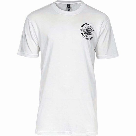 Tide Apparel Men's Cheers Tee, White, bcf_hi-res