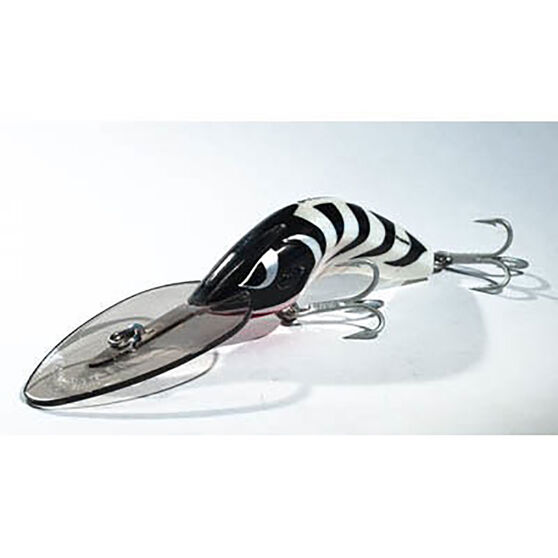 Predatek Boomerang Ultra Deep Hard Body Lure 65mm Zebra 65mm, Zebra, bcf_hi-res
