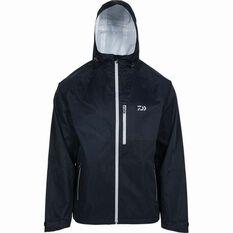 Daiwa Men's Rain Jacket Black S, Black, bcf_hi-res