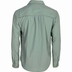 Outdoor Expedition Men's Vented Long Sleeve Shirt, Iron, bcf_hi-res