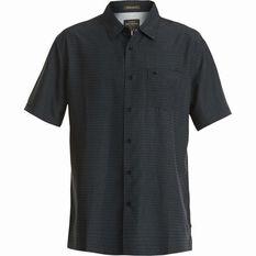 c0b22ba15 Quiksilver Men's Centinela 4 Regular Fit Shirt Black S Men's, Black, ...